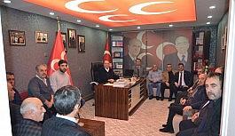 Başkan Karataş, TÜRKAV ve KAMU-SEN il temsilcileri ile görüştü