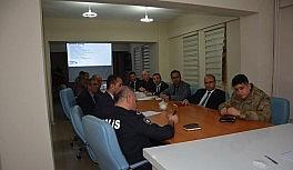 Güroymak'ta 'Bağımlılıkla Mücadele Değerlendirme Toplantısı' yapıldı