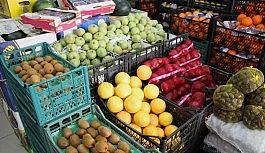 İstanbul'a gelen meyve azaldı, sebze arttı
