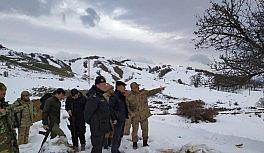 Kaymakam Özkan'dan operasyondaki birliklere ziyaret