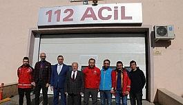 Meclis Başkanı Yıldız, Elazığ'dan dönen AFAD, 112 ve UMKE ekiplerini ziyaret etti
