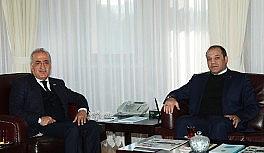 MHP Erzurum İl Başkanı Karataş'tan Rektör Çomaklı'ya ziyaret