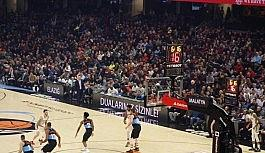 NBA maçında Elazığ ve Malatya unutulmadı!
