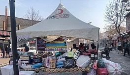 Patnos Sivil Toplum Platformu Elazığ ve Malatya için yardım kampanyası başlattı