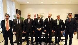 Türk Eğitim - Sen'den YÖK Başkanı Saraç'a ziyaret