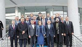 Türkiye Belediyeler Birliği yönetiminden deprem sonrası Malatya'ya ziyaret