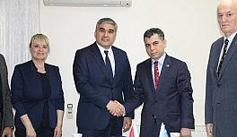 """Başkan Cevahiroğlu: """"Özbekistan ile ithalat ve ihracatı arttırmak istiyoruz"""""""