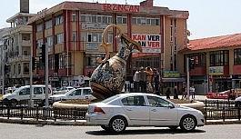 Erzincan'da trafiğe kayıtlı araç sayısı Şubat ayı sonu itibarıyla 60 bin 45 oldu