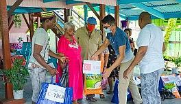 TİKA'dan Güney Amerika Ülkesi Guyana'daki ihtiyaç sahibi ailelere destek