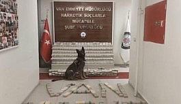 Van'da toprağa gömülü 248 kilo eroin ele geçirildi
