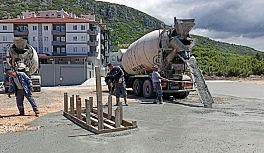 Emniyetin yeni ek hizmet binasına Menteşe Belediyesinden destek