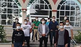 AK Parti Erzincan Gençlik Kollarından Ayasofya Camii açıklaması