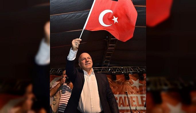 Başkan Sekmen'den Demokrasi ve Milli Birlik Günü mesajı