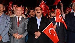 """Başkan Sunar: """"15 Temmuz Dünya Demokrasi Tarihinin önsözüdür"""""""