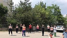 Erzurum'da 'kadına spor' yoğun ilgi gördü