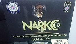 Malatya'da uyuşturucuya geçit yok