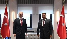 Milletvekili Fendoğlu, Malatya'nın sorunlarını Bakan Karaismailoğlu'na iletti