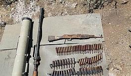 Pençe - Kaplan Operasyonu'nda çok sayıda mühimmat ele geçirildi