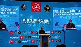 Polis Okulları Müdürleri Eğitim ve Koordinasyon Toplantısı