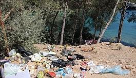 Bodrum'dan 4 günde 3 bin 250 ton çöp çıktı