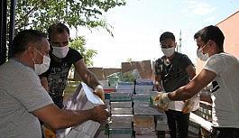 Ücretsiz ders kitapları okullara dağıtılmaya başlandı