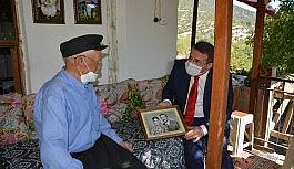 93 yaşındaki Kore gazisine sürpriz ziyaret