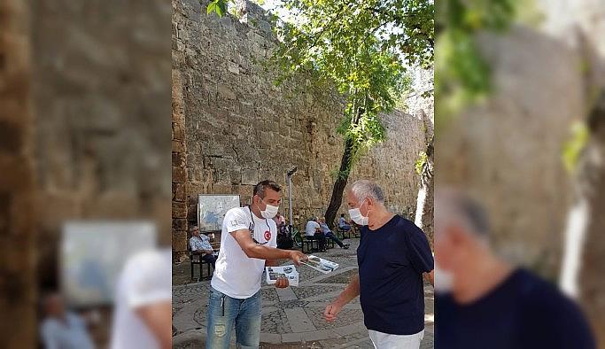 """""""Adım Adım Erzurum Projesi"""" pandemi sürecinde de devam ediyor"""