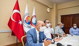 Başkan Soyer, ilçe ziyaretlerine Aliağa ile devam etti