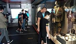 Kars'ta Çanakkale Savaşları Mobil Müzesi sergilendi