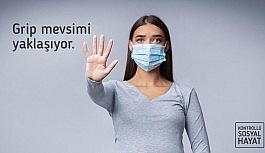 """Sağlık Bakanı Koca: """"Gribin sebebi influenza virüsü, korona virüsle aynı şekilde bulaşır"""""""