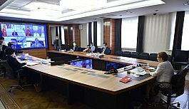 Ticaret Bakanı Pekcan, Kazakistan Sanal Genel Ticaret Heyeti programına video konferans yöntemiyle katıldı