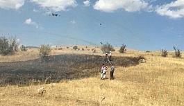 Yüksekova arazi yangını