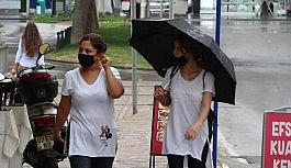 Antalya'da sonbaharın ilk yağmuru