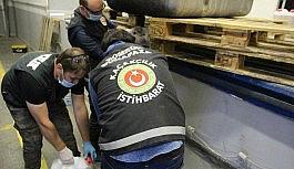 Dilucu Gümrük Kapısı'nda rekor metamfetamin yakalaması