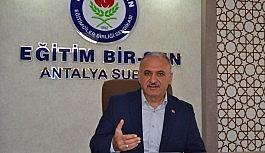Eğitim Bir Sen Antalya Şubesi'nden Azerbaycan'a destek