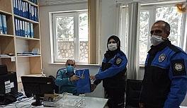 Polislerden Malatya Büyükşehir personeline anlamlı ziyaret