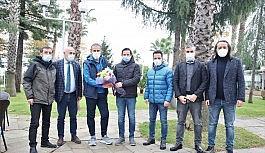 TSYD Trabzon Şubesi Abdullah Avcı'yı ziyaret etti