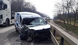 Bursa Ankara yolunda trafik kazası: 1 ağır...