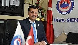 Diva-Sen Erzurum Şube Başkanı Karadaş'dan...