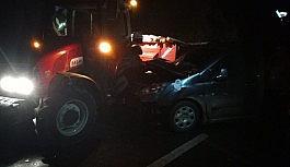 Pasinler'de trafik kazası: 1 ölü 3...