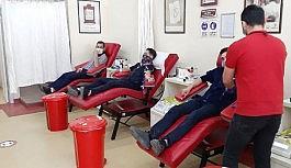 Türkiye İzcilik Federasyonu Erzurum İl Temsilciliğinden kan bağışı kampanyası