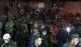 Katil Ermeni Gence'yi Gece Vurdu