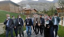 TÜRSAB yetkilileri Erzurum'da ağırlandı