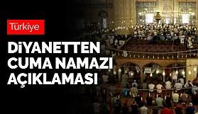 Her hafta ülkemizin farklı tek bir camisinde cuma namazı kılınacak